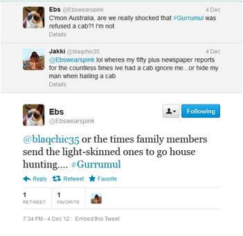 Image 2: Twitter conversation between @ebswearspink and @blaqchic35. Image used with @Ebswearspink's permission.