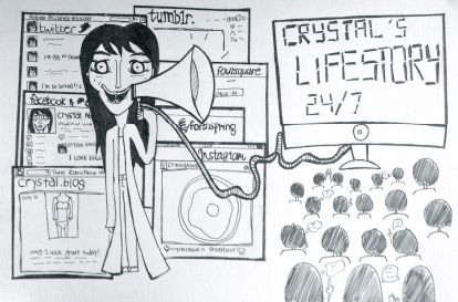 'livingontheinternet.com'. Original sketch by Carissa Abidin, reproduced with permission.