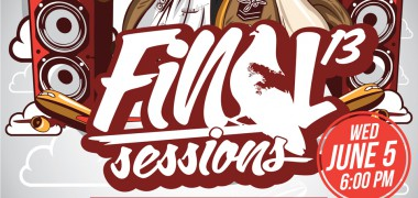 Final Sessions logo detail